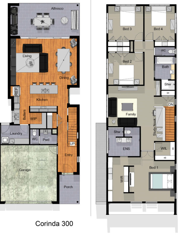 small lot floor plan