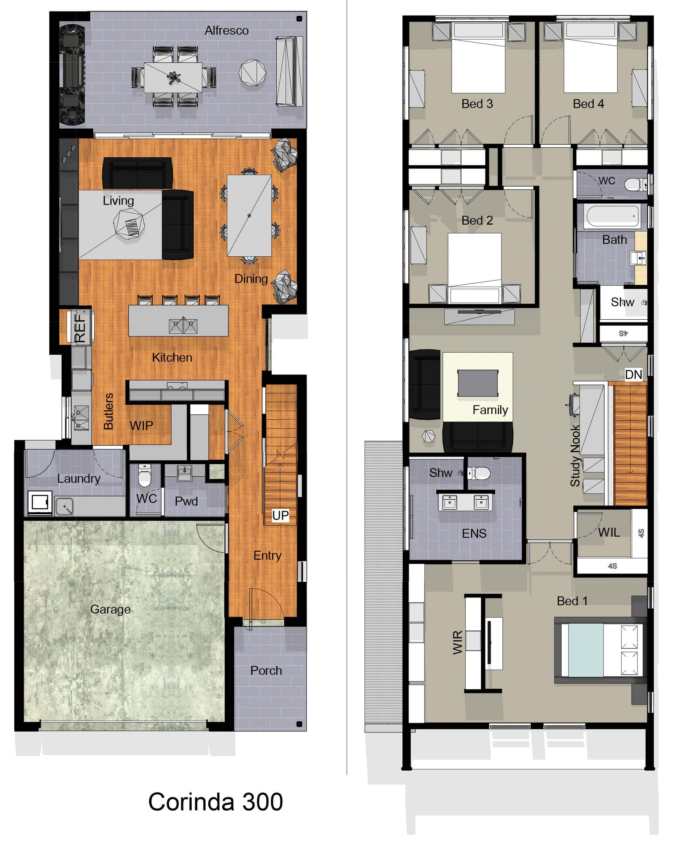 small lot floor plan