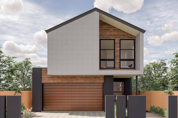 small lot home