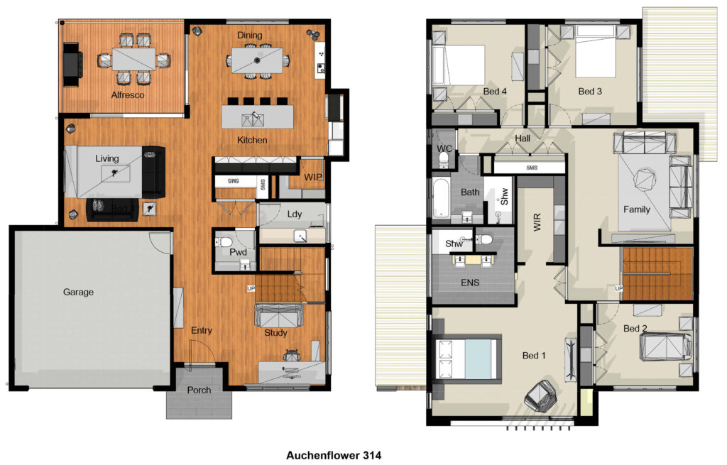 Auchenflower 314 Concept Plan