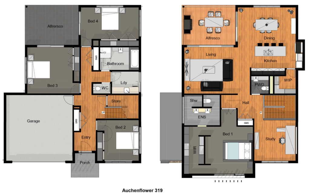 Auchenflower 319 Concept Plan