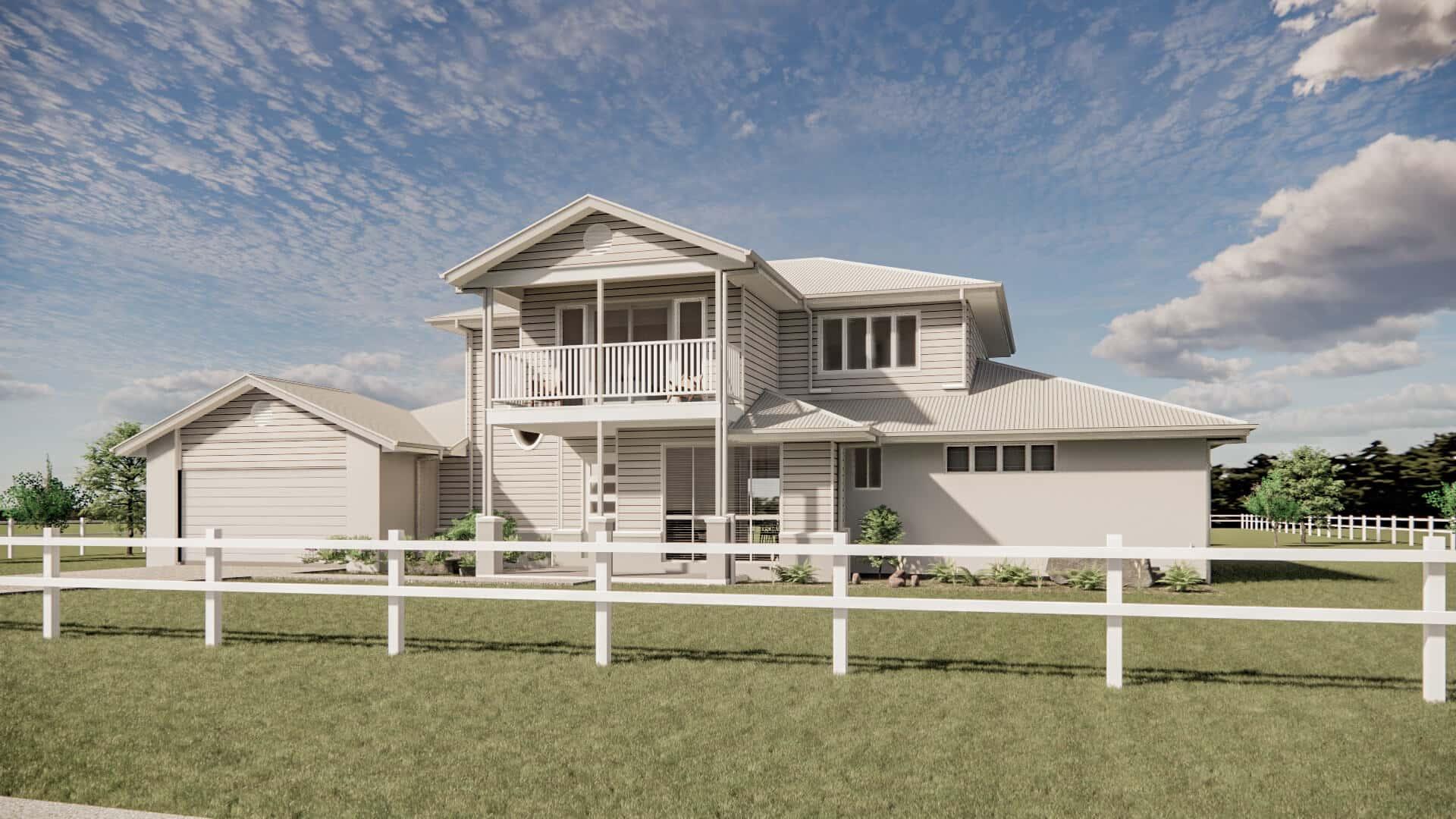 acreage home design