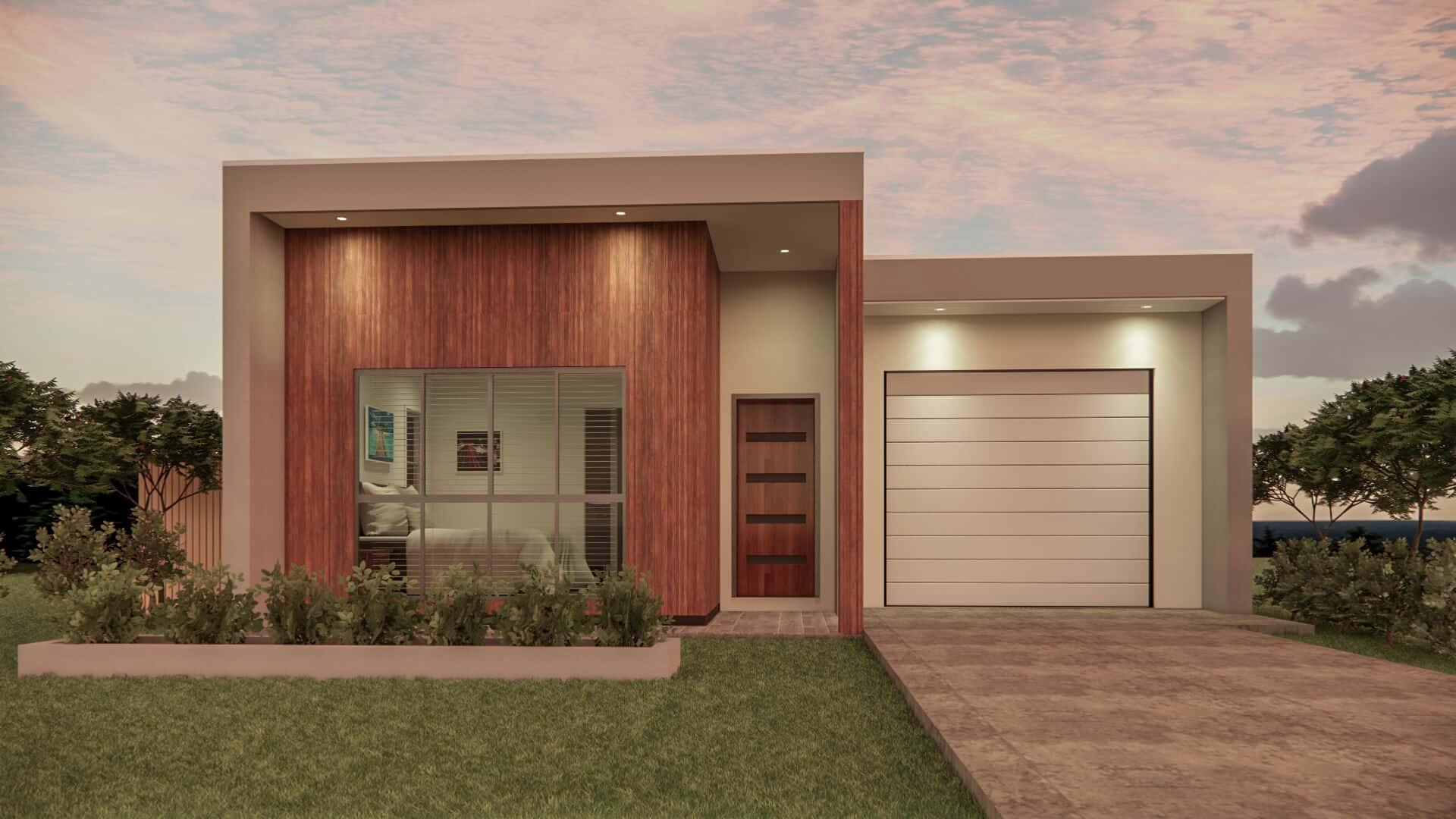 small lot home design